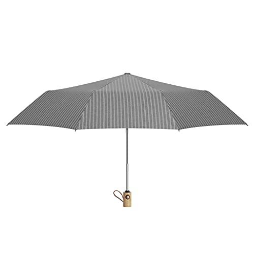 WYH Paraguas de viaje impermeable automático para exteriores, paraguas portátil con mango ergonómico