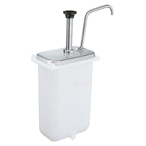 Server Products 83330-310 S/S 3.5 Qt. Tartar Sauce Fountain Jar Pump