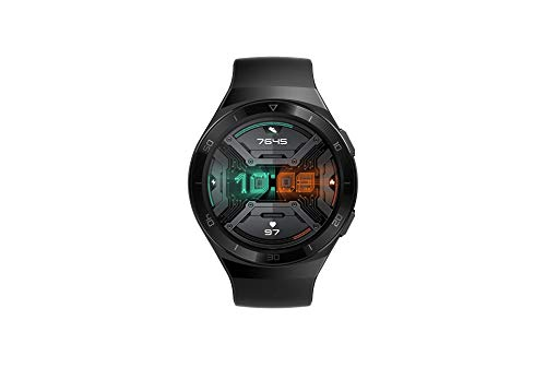 Huawei Watch GT 2e Sport - Smartwatch with AMOLED 1.39 inch screen, 2 weeks battery, GPS, Color Black (Graphite Black) 46 mm (55025281)