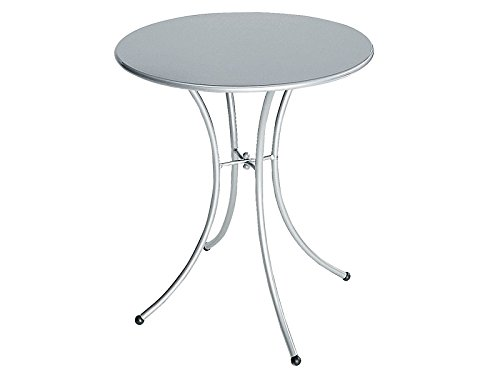 Table Pigalle rond cm. 60 Art. 905 couleur aluminium Cod. 20