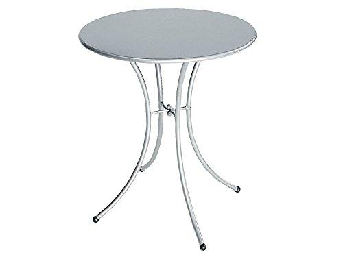 Tavolo Pigalle Rotondo cm. 60 Art. 905 Colore Alluminio cod. 20
