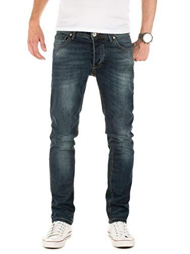 Yazubi Herren Jeans Paul Slim, Blau (Blau Navy Blazer 193923), W29/L34
