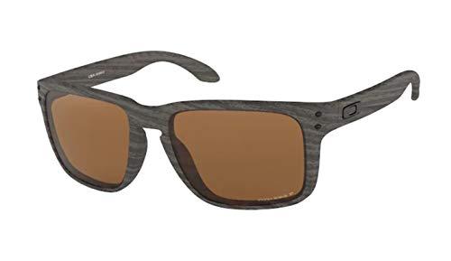 Oakley Holbrook XL OO9417 941706 59M Woodgrain/Prizm Tungsten Polarized Sunglasses For Men+BUNDLE with Oakley Accessory Leash Kit