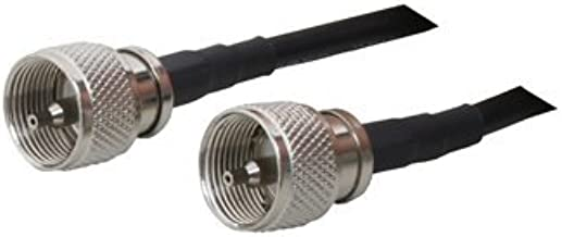 1 ft LMR-240 Coax PL259 Connectors 50 Ohm Commercial Ham Radio RF Jumper Cable
