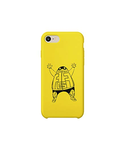 GlamourLab Fatgum Kirishima Totoro Mix Illustration Fatty_R2053 Carcasa De Telefono Estuche Protector Case Cover Hard Plastic Compatible with For iPhone 8 Novelty Present Birthday