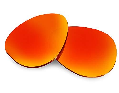 Seek Optics Crosshair (2012) lentes de repuesto gafas de sol Oakley - Rojo -