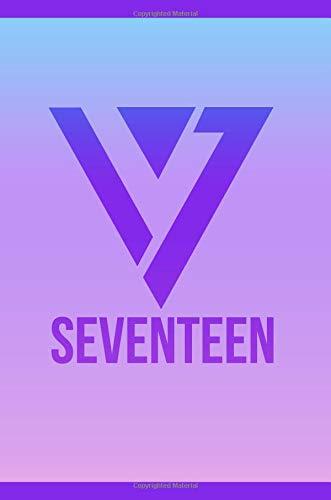 Seventeen 17 Logo KPOP Notebook Journal Diary Carats: KPOP Journal Notebook