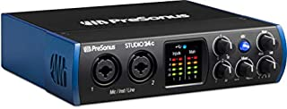 PreSonus Studio 24c 2x2, 192 kHz, USB-C Audio Interface, 2 Mic Pres - 2 Line Outs/New Version ( (B07L9MWWDK) | Amazon price tracker / tracking, Amazon price history charts, Amazon price watches, Amazon price drop alerts