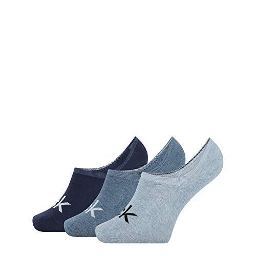 Calvin Klein Logo Men's Liner Socks (3 Pack), Combo, Talla única para...