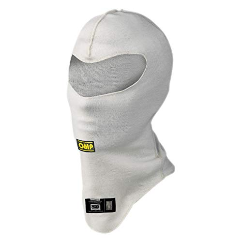 OMP Racing OMP-IAA/729 BASIC LINE DOUBLE LAYER BALACLAVA: Cream | One Size