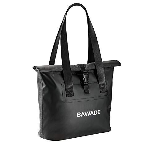 BAWADE Strandtasche Groß, PVC Wasserdichte Shopper Schultertasche Reisetasche Arbeitstasche, Familien Picknicktasche Badetasche für Damen Herren