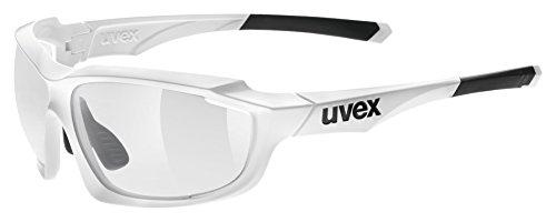 Uvex Erwachsene sportstyle 710 vario Sportbrille, White, One Size
