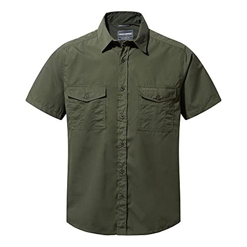 Craghoppers Herren Kiwi Ss Shirt Wanderhemd Gr. 58, Cedar