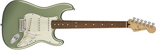 Fender Player Stratocaster Electric Guitar - Pau Ferro Fingerboard - Sage Green Metallic