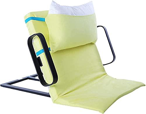 Respaldo de cama eléctrico, elevador de almohada médico ajustable portátil con 2 apoyabrazos para pacientes ancianos paralizados, discapacitados, comer, leer, después de la cirugía, recuperación.