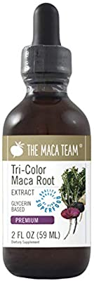 Premium Maca Root Extract - 2 Fl Oz 59 Ml - Fair Trade, GMO Free, Alcohol Vegan Made from Organic Roots Grown Traditionally in Peru