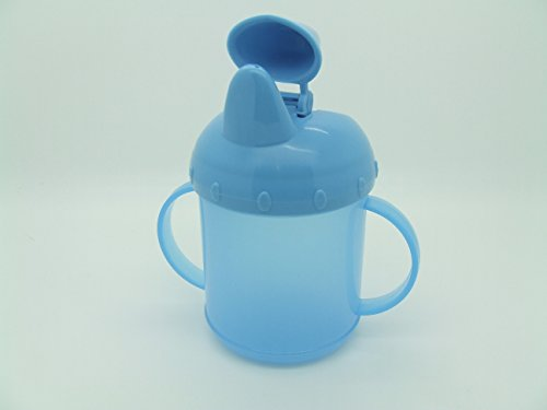 Just Formation Tasse Bleu bébé facile à tenir Poignées 230 ml (227 g) 6 mois + BPA gratuit