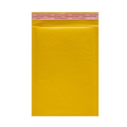 クッション 封筒 100枚入り DVDトールケース 1枚 サイズ 緩衝材 付き (外寸:約190x255mm+43mm/内寸:約170x251mm) FJ3897-small-100