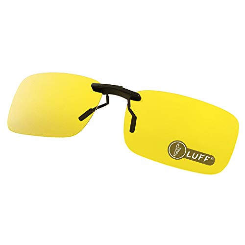 Luff Polarized Clip-On Eyeglasses