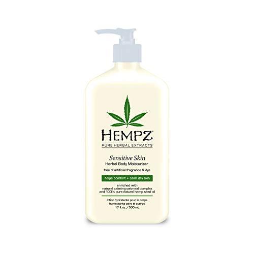 Supre Hempz Sensitive Herbal Body Moisturizer, 17 Oz