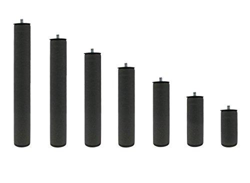 10,2/cm confezione da 6 colore: Nero robusta Bitta in nylon
