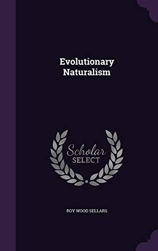 Evolutionary Naturalism