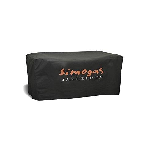 SIMOGAS Housse pour planchas 75 cm HP-75, Noir, 75