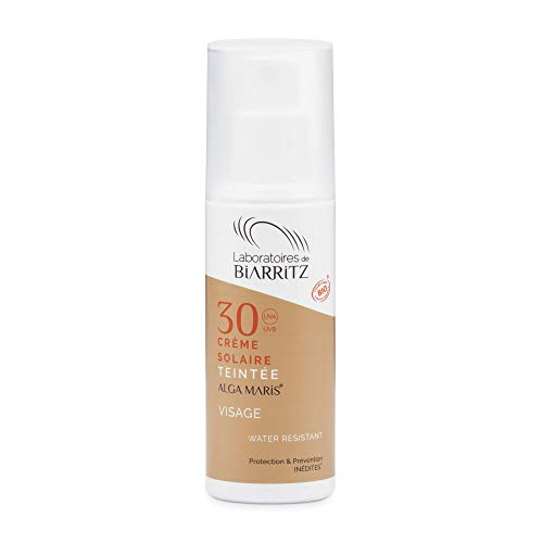Alga Maris - Lab. Biarritz Crema Facial Solar Color Golden Spf30 50Ml. 50 ml