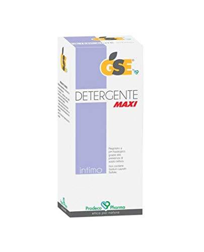 GSE DETERGENTE MAXI Intimo Delicato Estratto Semi Pompelmo Intimate Cleaner Grapefruit Seeds 400ml