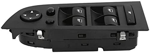 ACYCY Interruptor De Elevalunas Eléctrico para BMW 3-Series E90 E91 325I 328I 330I 2004-2013, Interruptor Principal para Elevadores De Elevalunas Eléctricos 61319217332 61319217334