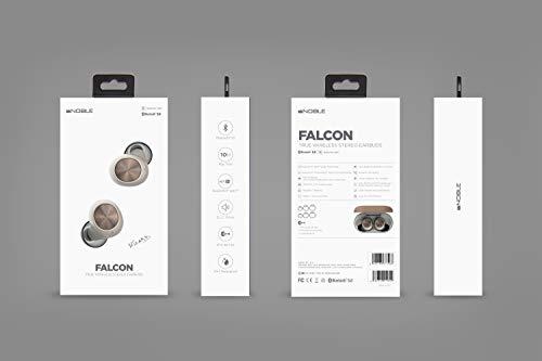 ノーブルオーディオ完全ワイヤレスBluetoothイヤホン(ブラック)NobleAudioFALCONNOB-FALCON