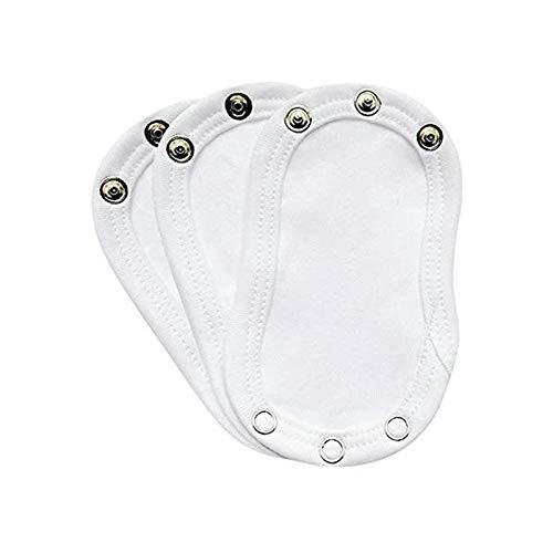 Yicare 3Pcs Body Verlängerung Baby Body Extender Super Utility Baby Gap Verlängerungsstück Baby Strampler Partner Bodyerweiterung für Overall Jumpsuit Spielanzug