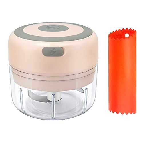 Garlic Chopper Electric , Mini Food Processor for Onion , Meat, Nuts,...