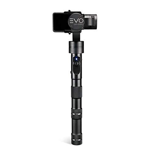 EVO GP-PRO 3 Axis GoPro Gimbal for Hero4, Hero5, Hero6 or Hero7 Black, Garmin Virb Ultra30, Yi 4K+ - 1 Year USA Warranty