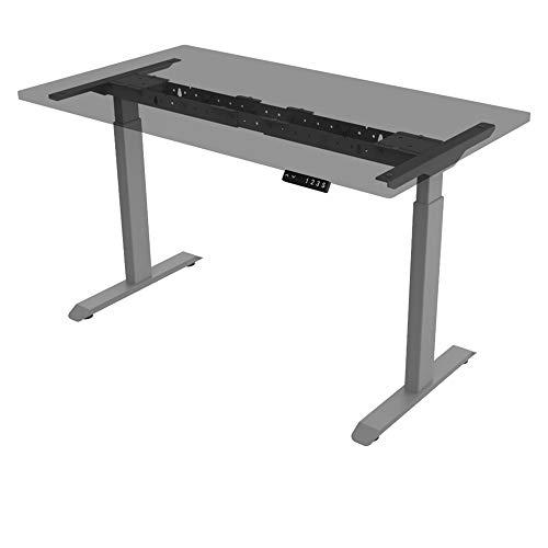 ALLDREI elektrisch stufenlos höhenverstellbarer Schreibtisch Mit Speicher-Steuerung und Erinnerungsfunktion. 1