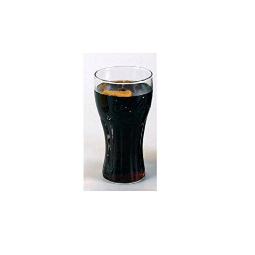 Coca Cola Verre Bougie Senteur 0,2 l avec Coca Cola et de citron. Prévoit réaliste en verre. Après utilisable de nettoyage.