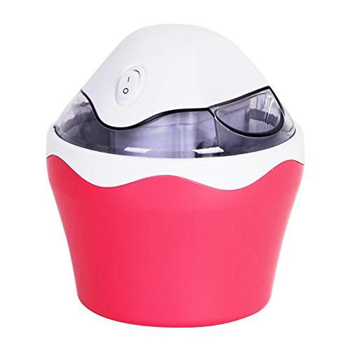 Mini Ice Cream Machine, 500ML Redelijke Capacity Ice Cream Machine, Double-Layer isolatie ontwerp, High-Quality Frozen vloeistof die geschikt is voor 2 personen