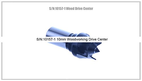 Great Deal! S/N:10157-1 10mm Woodworking Drive Center/SIEG C0 Center