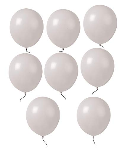 King's deal 12 inches100 Pcs Latex Balloons For Party Supplies Decorations Balloon - White
