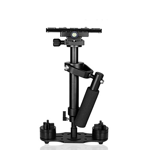 Wondalu S40 15.8'/40CM Handheld Steadycam Camera Stabilizer for DSLR Steadicam Canon Nikon GoPro AEE Video with Quick Release Plate