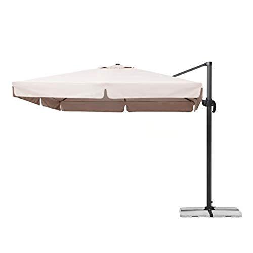 ombrellone da giardino 3x3 PRATIKO LIFE Ecru Life Ombrellone Braccio Roma 3 x 3 Metri Alluminio pratik