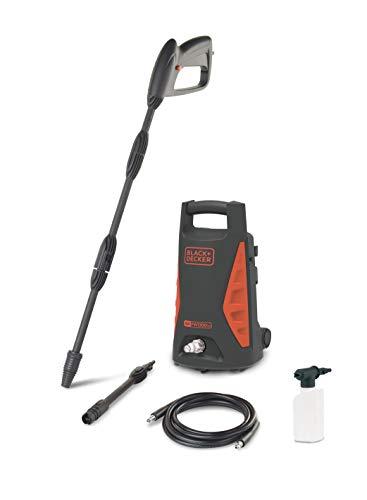Black+Decker BXPW1300TD Hidrolimpiadora de alta presión, Negro