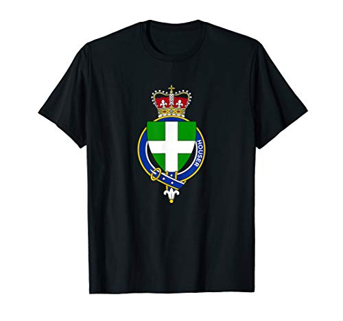 Houser Coat of Arms - Family Crest T-Shirt