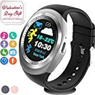 Fitness Tracker Smart Watch with Heart Rate Blood Pressure Monitor,Activity Tracker Watch with Step Counter,Sleep Monitor,Calorie Counter,SMS & Call Reminder Sport Outdoor Wristband for Kids Women Men