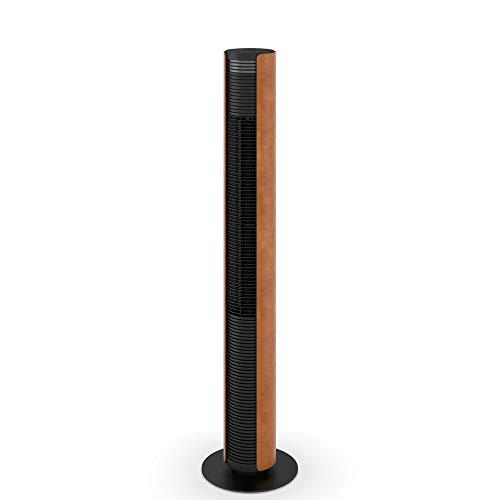 Stadler Form Ventilatore a torre Peter Leatherette con timer e funzione girevole con telecomando, tre livelli di velocità
