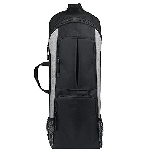 Bolsa para esterilla de yoga, bolsa de almacenamiento multifuncional, con bolsillo lateral...