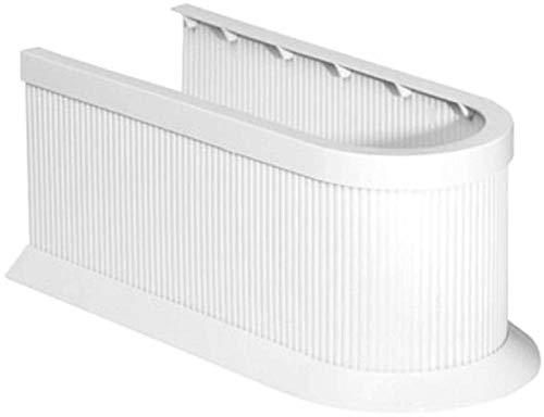 SIDCO Siphon Abdeckung Siphonverkleidung Rohrverkleidung Abfluss weiß zuschneidbar