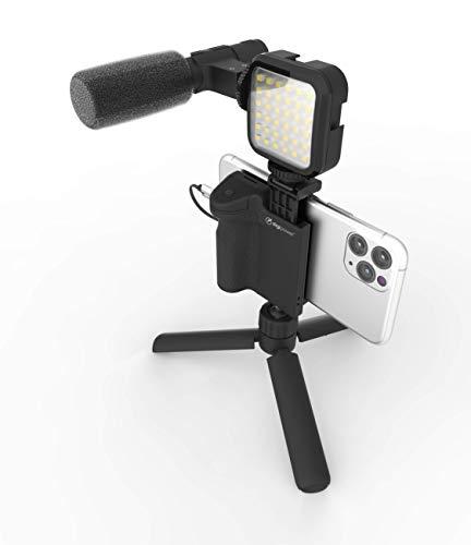 DigiPower DPS-VLG4 - Juego de 4 Accesorios de Vlogging con M
