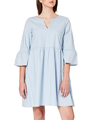 edc by Esprit 031CC1E321 Vestido, 445/azul Lavanda, 40 para Mujer