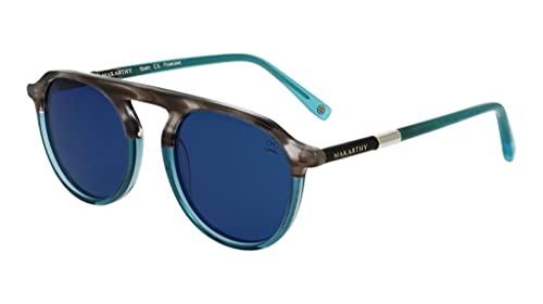 MAKARTHY. Gafas de Sol Polarizadas. Unisex. Modelo CORK (Azul)